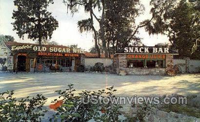 Old Sugar Mill - St Augustine, Florida FL Postcard