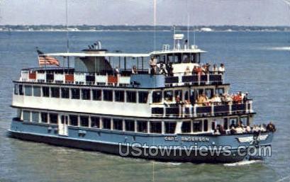 Capt Anderson - St Petersburg, Florida FL Postcard