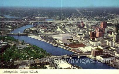 Metropolitan - Tampa, Florida FL Postcard