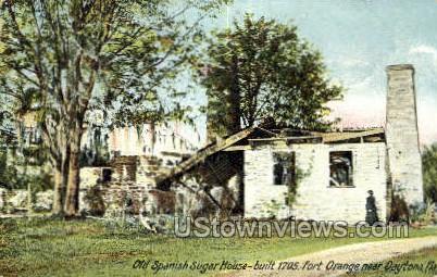 Spanish Sugar House - Daytona, Florida FL Postcard