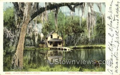 De Leon Springs - De Land, Florida FL Postcard