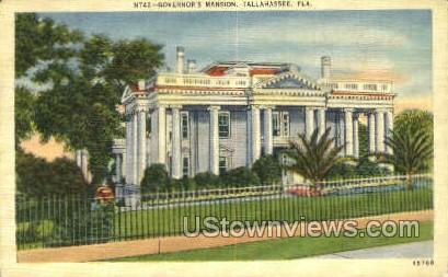 Governor's Mansion - Tallahassee, Florida FL Postcard