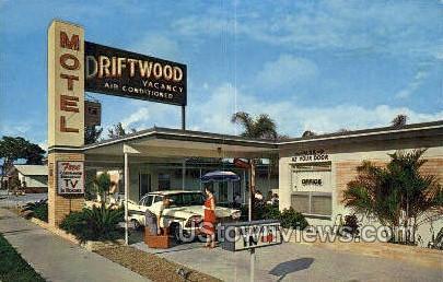 Driftwood Motel - St Petersburg, Florida FL Postcard