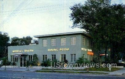 Moock's Tavern - St Petersburg, Florida FL Postcard