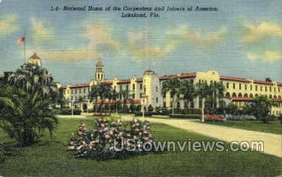 National Home - Lakeland, Florida FL Postcard
