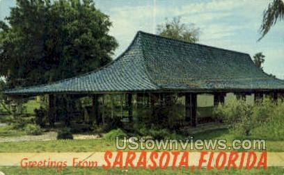 Chamber of Commerce - Sarasota, Florida FL Postcard