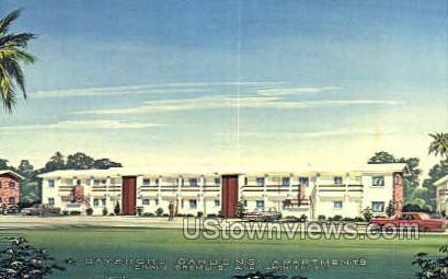 Bayshore Gardens - Bradenton, Florida FL Postcard