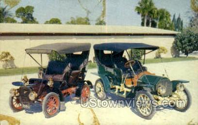 Horn's Cars of Yesterday - Sarasota, Florida FL Postcard