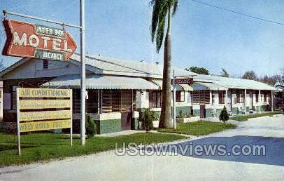 Inter Bay Motel - Tampa, Florida FL Postcard