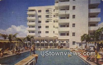 Coronel Hotel - Miami Beach, Florida FL Postcard