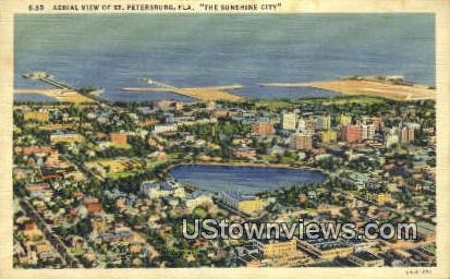 St Petersburg, FL       ;       St Petersburg, Florida Postcard