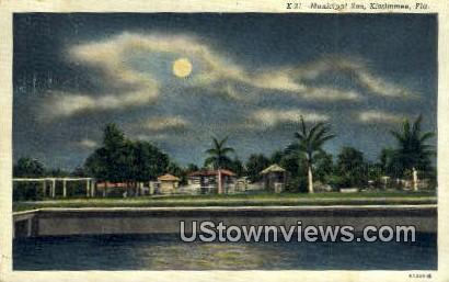 Municipal Zoo - Kissimmee, Florida FL Postcard