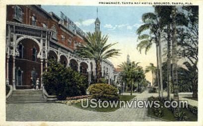 Promenade, Tampa Bay Hotel - Florida FL Postcard