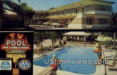 Town House Motel - Clearwater, Florida FL Postcard