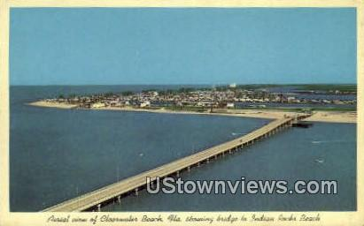 Bridge, Indian Rocks Beach - Clearwater Beach, Florida FL Postcard