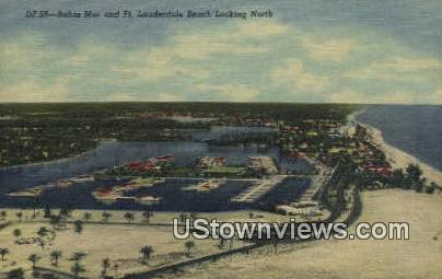 Bahia Mar - Fort Lauderdale Beach, Florida FL Postcard
