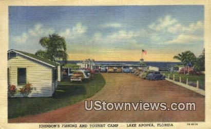 Johnson's Fishing & Tourist Camp - Lake Apopka, Florida FL Postcard