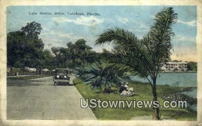Lake Morton Drive - Lakeland, Florida FL Postcard