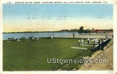 Bowling on the Green - Lakeland, Florida FL Postcard