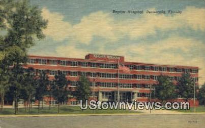 Baptist Hospital - Pensacola, Florida FL Postcard