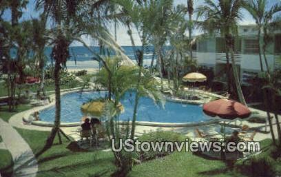 Biltmore Apartments - Ormond Beach, Florida FL Postcard