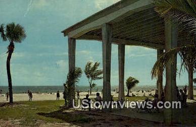 New Siesta Key Beach Pavilion - Sarasota, Florida FL Postcard