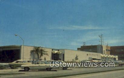 US Post Office - Sarasota, Florida FL Postcard