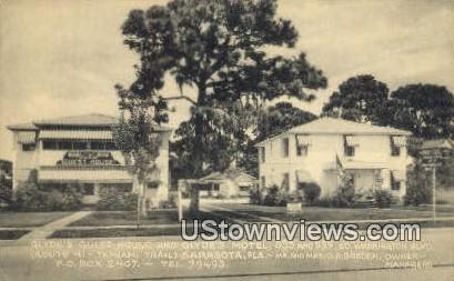 Glyde's Guest House & Glyde's Motel - Sarasota, Florida FL Postcard