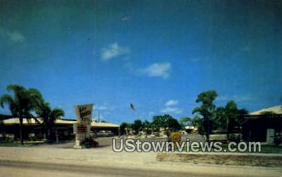 Bay Breeze Motel - Sarasota, Florida FL Postcard