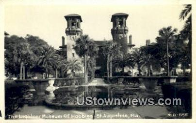 Real Photo - Lightner Museum of Hobbies - St Augustine, Florida FL Postcard