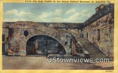 Castillo De San Marcos National - St Augustine, Florida FL Postcard