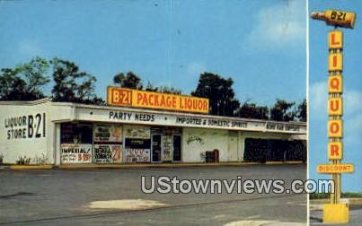 Discount Liquors - Tarpon Springs, Florida FL Postcard