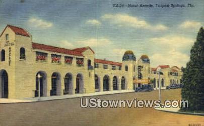 Hotel Arcade - Tarpon Springs, Florida FL Postcard