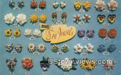 Sea Jewels - Indian Rocks Beach, Florida FL Postcard