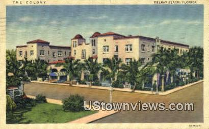 The Colony - Delray Beach, Florida FL Postcard