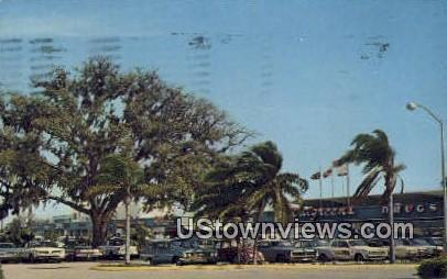 Cortez Plaza Shopping Center - Bradenton, Florida FL Postcard