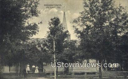 Episcopal Church - De Land, Florida FL Postcard