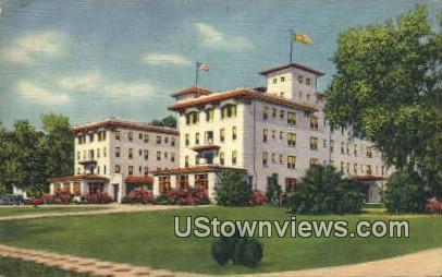 Hotel Putnam - De Land, Florida FL Postcard