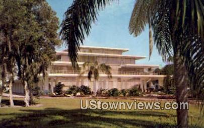 Municipal Aud - Bradenton, Florida FL Postcard