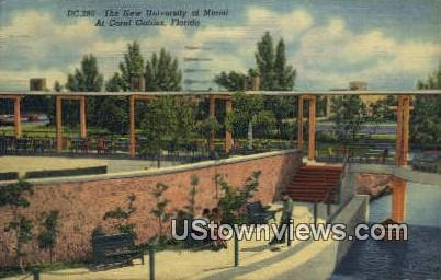 New University of Miami - Coral Gables, Florida FL Postcard