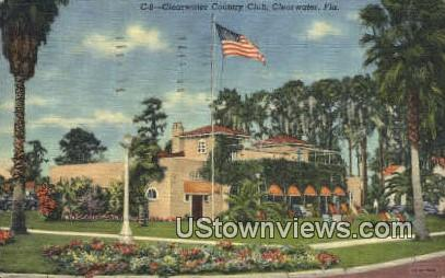 Clearwater Country Club - Florida FL Postcard