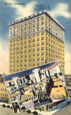 Hotel Floridian - Tampa, Florida FL Postcard