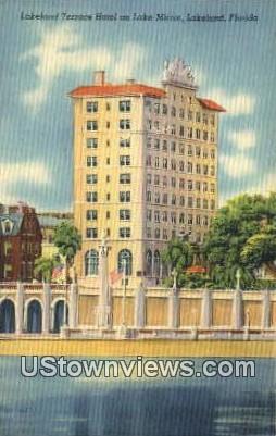 Lakeland Terrace Hotel, Lake Minor - Florida FL Postcard