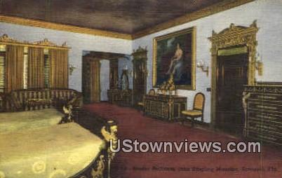 Master Bedroom, John Ringling Mansion - Sarasota, Florida FL Postcard