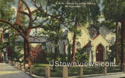 Trinity Episcopal Church - St Augustine, Florida FL Postcard