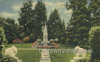 Hindu Temple, Southern College - Lakeland, Florida FL Postcard