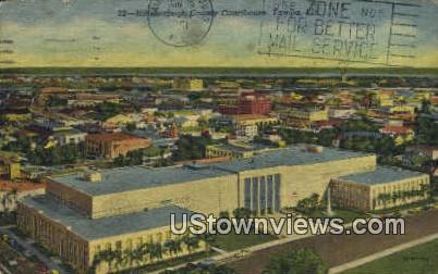 Hillsborough County Courthouse - Tampa, Florida FL Postcard