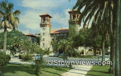 Municipal Lightner, Museum of Hobbies - St Augustine, Florida FL Postcard