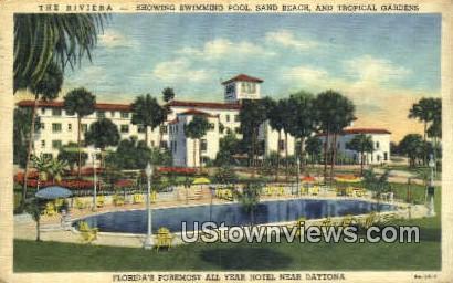 The Riviera - Daytona, Florida FL Postcard