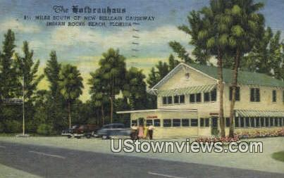 The Hofbrauhaus - Indian Rocks Beach, Florida FL Postcard
